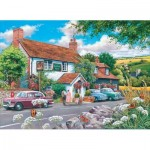 Puzzle  The-House-of-Puzzles-3572 Pièces XXL - Travellers Rest