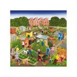 Wentworth-662003 Puzzle en Bois - Louise Braithwaite : Allotments