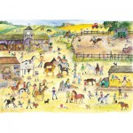 Wentworth-682303 Puzzle en Bois - Julia Rigby : Riding Stables