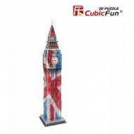 Cubic-Fun-C094T Puzzle 3D - Big Ben Color - Difficulté : 4/8