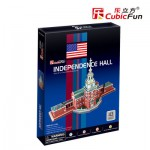Cubic-Fun-C120H Puzzle 3D - Independence Hall (USA) - Difficulté : 4/8