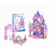 Cubic-Fun-E1623H Puzzle 3D - Princess Secret Garden