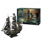Cubic-Fun-L520h Puzzle 3D avec LED - Queen Anne's Revenge - Difficulté: 8/8