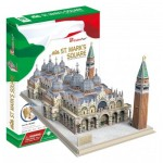Cubic-Fun-MC209h Puzzle 3D - Place Saint-Marc (Difficulté: 5/8)