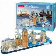 Cubic-Fun-MC253h Puzzle 3D - Londres - Difficulté : 4/8