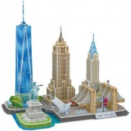 Cubic-Fun-MC255h Puzzle 3D - New York - Difficulté : 4/8