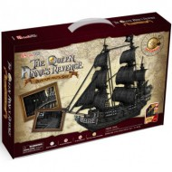 Cubic-Fun-T4018H Puzzle 3D - The Queen Anne's Revenge - Difficulté : 8/8
