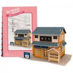 Cubic-Fun-W3104H Puzzle 3D World Style - Welcome to Japan