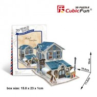 Cubic-Fun-W3117H Puzzle 3D World Style - Welcome to France