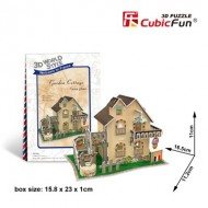 Cubic-Fun-W3118H Puzzle 3D World Style - Welcome to France