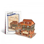 Cubic-Fun-W3119H Puzzle 3D World Style - Welcome to France