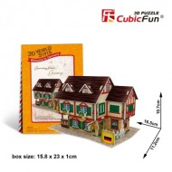 Cubic-Fun-W3127H Puzzle 3D World Style - Welcome to Germany