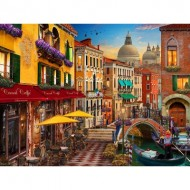 Puzzle  Perre-Anatolian-4553 Canal Cafe Venice