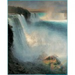 Puzzle  Pomegranate-AA552 Frederic Edwin Church : Niagara
