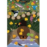 Puzzle  Pomegranate-AA638 Charley Harper : Les Montagnes Rocheuses
