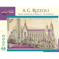 Puzzle  Pomegranate-AA874 A. G. Rizzoli - Mother Symbolically Recaptured / The Kathredal, 1937