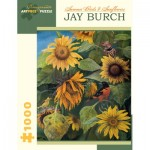 Puzzle  Pomegranate-AA878 Jay Burch - Summer Birds and Sunflowers, 2011