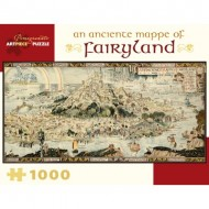 Puzzle  Pomegranate-AA978 Bernard Sleigh - An Anciente Mappe of Fairyland