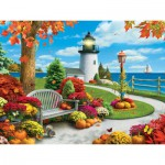 Puzzle  Master-Pieces-31576 Autumn Sail