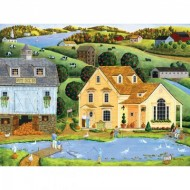 Puzzle  Master-Pieces-31728 Pièces XXL - Heartland - The White Duck Inn