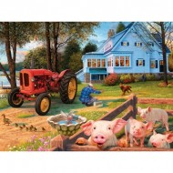 Puzzle  Master-Pieces-31839 Glow in the Dark - Welcome Home