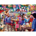 Puzzle  Master-Pieces-31928 Drive-Ins, Diners and Dives - Duffy's Sport and Suds