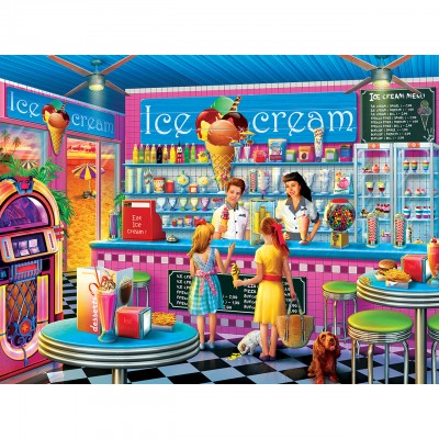 Puzzle Master-Pieces-32011 Anna's Ice Cream Parlor