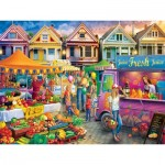 Puzzle  Master-Pieces-32016 Weekend Market