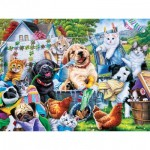 Puzzle  Master-Pieces-32110 Pièces XXL - Washing Time