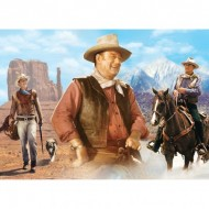 Puzzle  Master-Pieces-33639 John Wayne - On the Trail