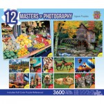 Master-Pieces-51250 12 Puzzles - Masters Of Photography