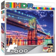 Puzzle  Master-Pieces-71523 HDR Photography - Brooklyn Lights