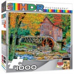 Puzzle  Master-Pieces-71524 HDR Photography - Glade Creek Grist Mill