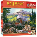 Puzzle  Master-Pieces-71547 Railway - Movin' Thru 71
