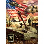 Puzzle  Master-Pieces-71693 U.S. Army Firepower