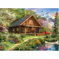 Puzzle  Master-Pieces-71750 Mountain Retreat