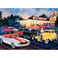 Puzzle  Master-Pieces-71765 Dogs & Burgers