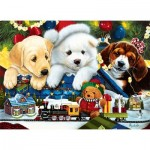 Puzzle  Master-Pieces-71775 Toyland Pups