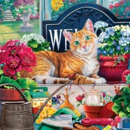 Puzzle  Master-Pieces-71947 Cat-ology - Blossom