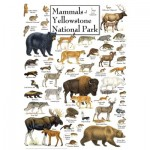 Puzzle  Master-Pieces-71974 Mammals of Yellowstone National Park