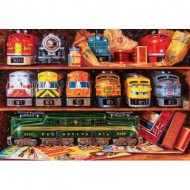 Puzzle  Master-Pieces-72046 Well Stocked Shelves
