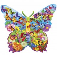 Puzzle  Master-Pieces-72051 Butterfly