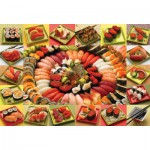 Puzzle  Cobble-Hill-50708 Beaucoup de Sushis