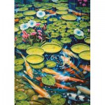 Puzzle  Cobble-Hill-51782-80087 Koi Pond