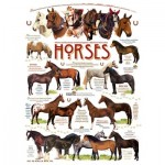 Puzzle  Cobble-Hill-51825 Robert May - Horse Quotes