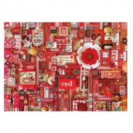 Puzzle  Cobble-Hill-51861-80146 Shelley Davies: Red