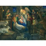 Puzzle  Cobble-Hill-52112 Pièces XXL - Away in a Manger