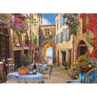 Puzzle  Cobble-Hill-57119 Un village en France