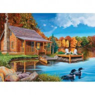Puzzle  Cobble-Hill-57154 USA - Loon Lake