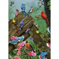 Puzzle  Cobble-Hill-58889 Wildbird Gathering